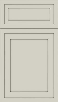 Asher 5-Piece Maple flat panel cabinet door in Cirrus