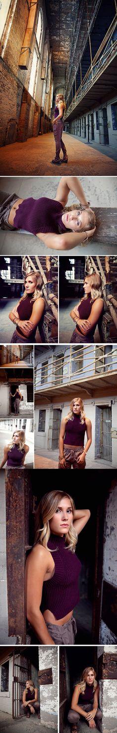 Northeast Ohio High School Senior Photography | The Ohio State Reformatory…
