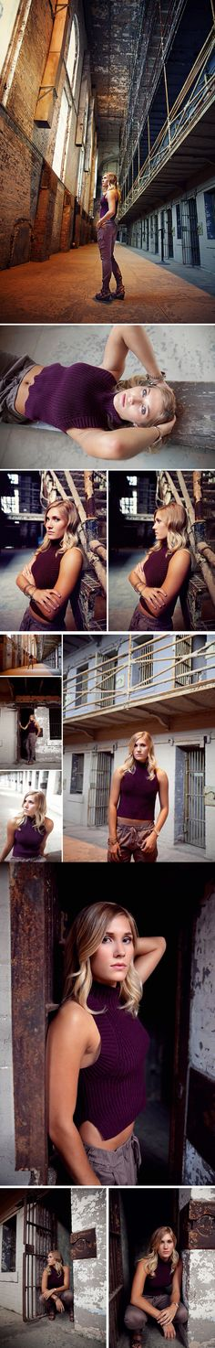 Northeast Ohio High School Senior Photography | The Ohio State Reformatory - Mansfield, Ohio | The Picture Show LLC
