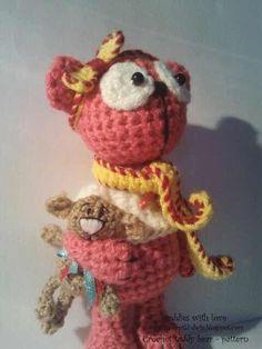 Teddies with love: Darmowy wzór na misia./ FREE teddy bear crochet pa...