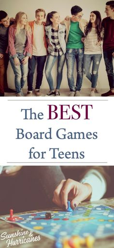 The Best Board Games for Teens. Looking for a way to connect with your teen? Family game night is one of the best ways to bring everyone together and with these suggestions for board games for teens from teens, you'll already be set up for success. Parenting Articles, Parenting Books, Parenting Teens, Tween Games, Games For Teens, Family Game Night, Family Games, Family Activities, Game Development Company