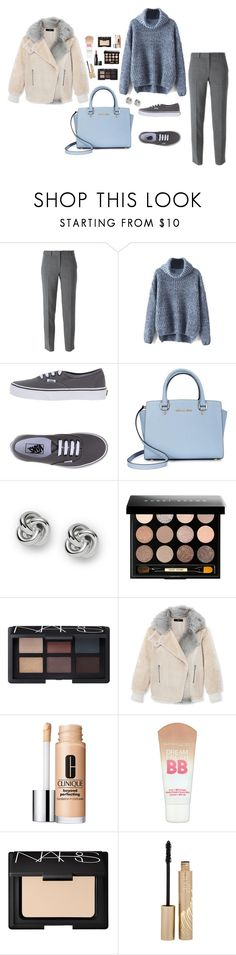 """""""M"""" by butnotperfect ❤ liked on Polyvore featuring DKNY, Vans, Michael Kors, FOSSIL, Bobbi Brown Cosmetics, NARS Cosmetics, TIBI, Clinique, Maybelline and Stila"""