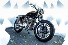 Honda CB400N Brat Style by JeriKan Motorcycles #motorcycles #bratstyle #motos   caferacerpasion.com