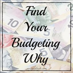 Find Your Budgeting Why Financial Stress, Financial Goals, Life On A Budget, Create A Budget, Achieve Success, The Way You Are, Debt Payoff, How To Get, How To Plan
