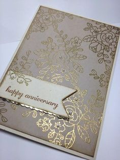 So Very Grateful Gold Embossed by higgiz - Cards and Paper Crafts at Splitcoaststampers