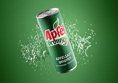 Knackig, saftig, fruchtig – das erfrischende Getränk in der Dose Mountain Dew, Beverages, Drinks, Dose, Corporate Design, Canning, Fruit Juice, Apple Juice, Refreshing Drinks