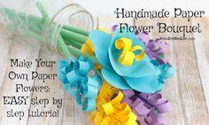 Handmade Paper Flowe