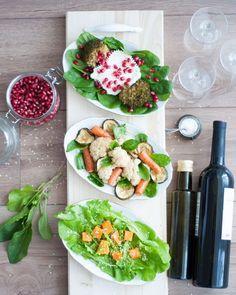 Wine <3 Can you tell I like salads? :P