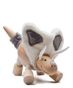 Torosaurus Wooden Toy