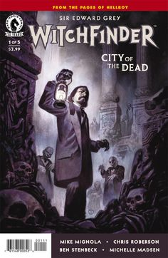 Preview: Witchfinder: City of the Dead #1, Witchfinder: City of the Dead #1 Story: Mike Mignola, Chris Roberson Art: Ben Stenbeck Cover: Julian Totino Tedesco Publisher: Dark Horse Publi..., #All-Comic #All-ComicPreviews #BenStenbeck #ChrisRoberson #Comics #DarkHorse #JulianTotinoTedesco #MikeMignola #previews #Witchfinder:CityoftheDead