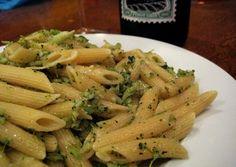 Broccoli & Garlic Penne pasta dish