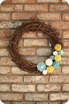 spring #wreath