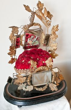 Antique French Wedding Display.