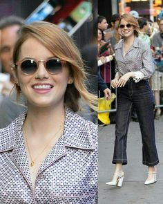 Celebrity Crush, Celebrity Style, Emma Stone Style, Great Women, Celebs, Celebrities, American Actress, Passion For Fashion, Beautiful People