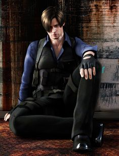 Leon S Kennedy fan art. Resident Evil I Love You, Leon Kennedy! Resident Evil Video Game, Resident Evil Anime, Resident Evil Girl, Leon S Kennedy, Mundo Dos Games, Japon Illustration, Video Game Characters, Videos, Hot Guys