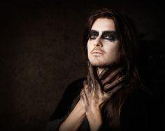 Dark Mori men, goth boys, goth makeup, brujo, corvus, dark angel, goth men, Dark Mori kei