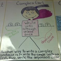 Sentence Description for a Complex Sentence