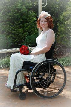 Wheelchair/disability wedding photography (vow renewal), photo credit: Danielle Ault