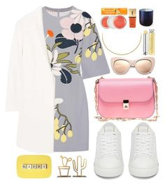 """""""h.a.p.p.y"""" by carolsposito ❤ liked on Polyvore featuring Marni, MANGO, Valentino, STELLA McCARTNEY, Christian Dior, Clinique, Yves Saint Laurent and Jonathan Adler"""