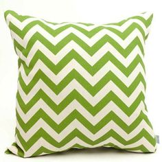 Majestic Home Goods Chevron Indoor Outdoor Large Decorative Pillow