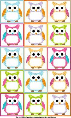(Free Owl Label Templates) Back to School,Classroom,Classroom ideas,Fourth Grade, Owl Theme Classroom, Preschool Classroom, Owl Preschool, Classroom Teacher, Classroom Ideas, Classroom Birthday, Classroom Labels, Owl Templates, Label Templates