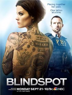 TV Show - Blindspot-looking forward to it...