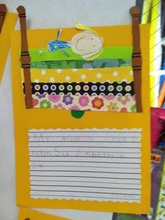 scrapbook strips!!!!!!!!!oh my word- princess & the pea... love the idea of using strips on scrapbook paper to show the matresses