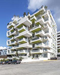 Imagen 14 de 30 de la galería de Edificio VIVIR PERMEABLE / Arquitectura X. Fotografía de Sebastian Crespo