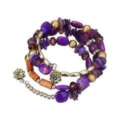 New Hot Bohemian Charm Bracelet Crystal Nature Stone Shell Wood Wrap Bracelets For Women Fashion Jewelry Boho Bangles