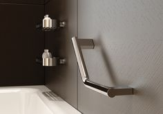 Modern Safety Bars For Bath Tubs   Modern Safety Bar. I Like The Lines Of  This Bar   Doesnu0027t Look Institutional!