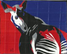 Okapi Ductanimal by HoldStillPets on Etsy, $50.00