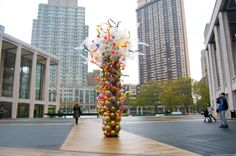 Float, Balloon Sculptures by Janice Lee Kelly Lee Kelly, Janice Lee, Floating Balloons, Sculptures, Street View, Decor, Art, Art Background, Decoration