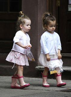 Sarah Jessica Parker twins.