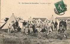 19 - Le Camp de Cercottes - Le repos au Camp