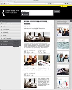 Rheinische Post. Webdesign | Intranet by blindwerk
