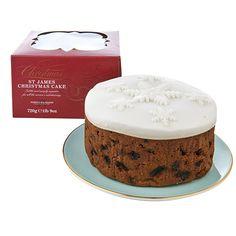 st | james | handmade | christmas | cake