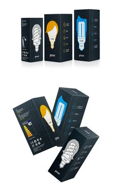 Lamp package concept (British Higher School of Art and Design)