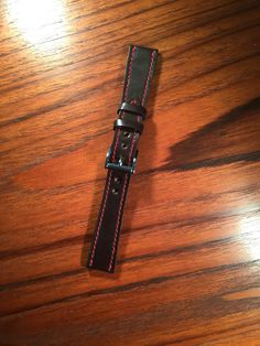 Custom Shell Cordovan Watch Strap from 922Leather.com
