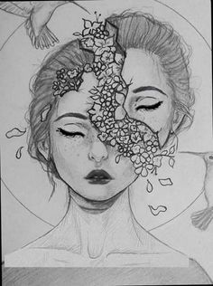 Drawing Faces Sketches Doodles 41 Ideas For 2019 Drawing Faces Sketch., Drawing Faces Sketches Doodles 41 Ideas For 2019 Drawing Faces Sketch. Cool Art Drawings, Pencil Art Drawings, Art Drawings Sketches, Doodle Drawings, Beautiful Drawings, Drawing Faces, Drawing Drawing, Creative Pencil Drawings, Drawings On Hands