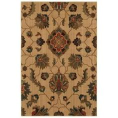 Home Decorators Collection Canton Light Beige 5 ft. 3 in. x 7 ft. 6 in. Area Rug  on  Daily Rug Deals