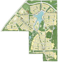 Masterplan for Hampsted by Duany Plater-Zyberk & Company | 2005