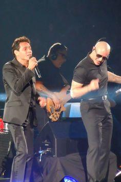 Marc Anthony & Mr. 305 Pitbull