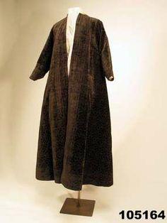 Velveta coat, 1590, Nordiska museet, Sweden
