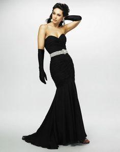 black ezila party dress