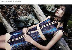 Vogue China Agosto 2014 | Kendra Spears e Elizabeth Erm por Emma Summerton [Editorial]