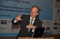 Mayor of Stuttgart, mr. Wolfgang Schuster