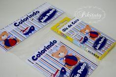 Kit Colorir revistinha - Urso Marinheiro