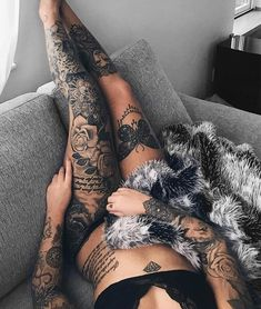 "46.5k Likes, 113 Comments - Tattoos (@inkspiringtattoos) on Instagram: ""Amazing tattoos @kajsacarolinee ❤️ Follow @tattooinkspiration @tattooinkspiration for more!"""