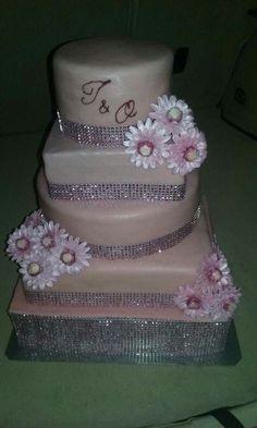 svatební dort růžový Cake, Desserts, Food, Pie Cake, Meal, Cakes, Deserts, Essen, Hoods