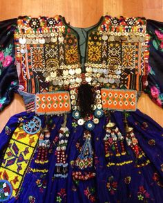 Afghan kuchi ethnic dress vintage asian traditional by akcaturkmen